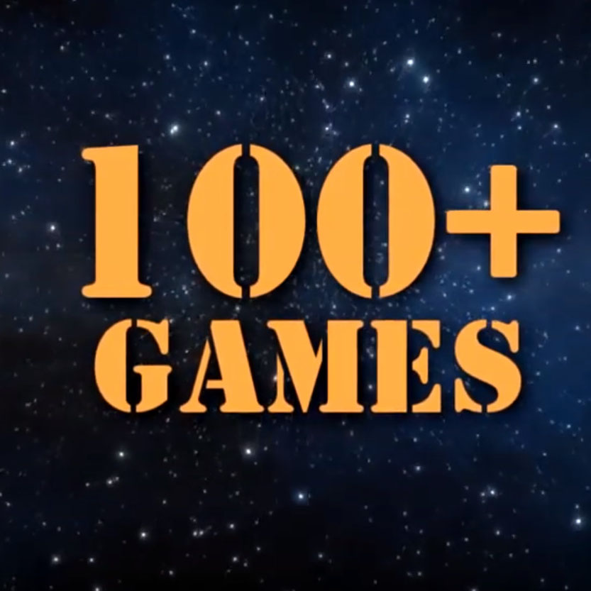 100+ GAMES